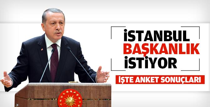 İstanbul Başkanlık Sistemini istiyor