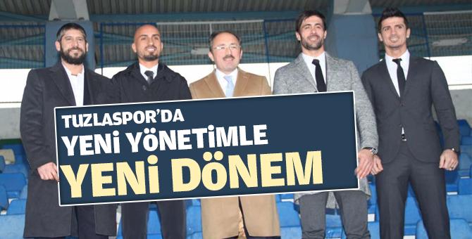 Tuzlaspor'da yeni yönetimle yeni dönem!