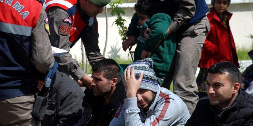 Aydın'da 10 göçmen yakalandı