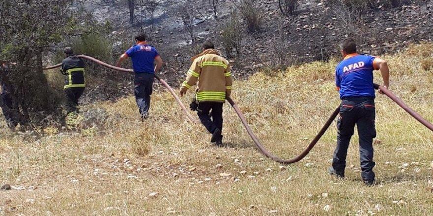 AFAD'dan yangın ekiplerine destek