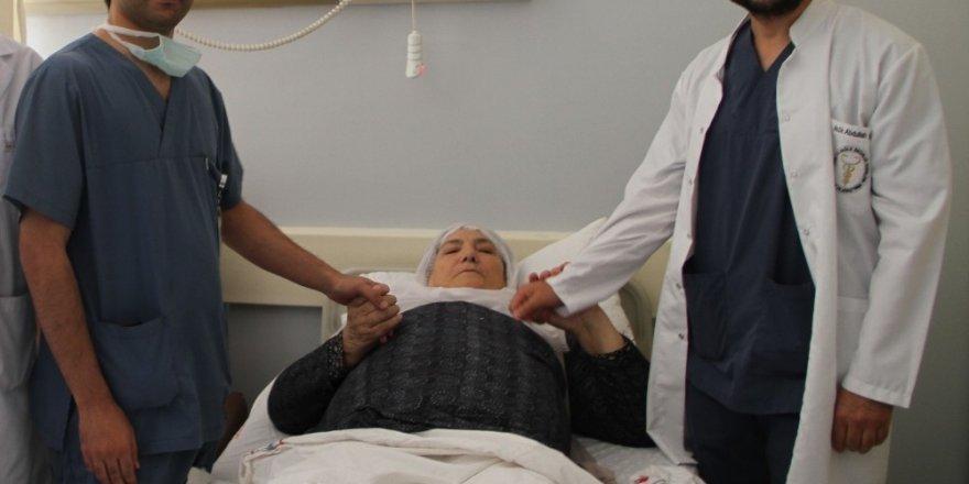 Van'da 'Laparaskopik Parsiyel Nefrektomi' ameliyatı