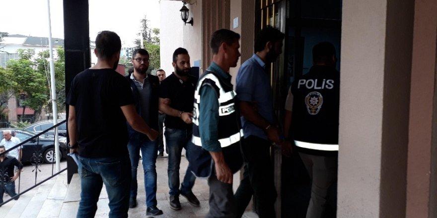 Bilecik'te gözaltına alınan 11 şüpheli adliyeye sevk edildi