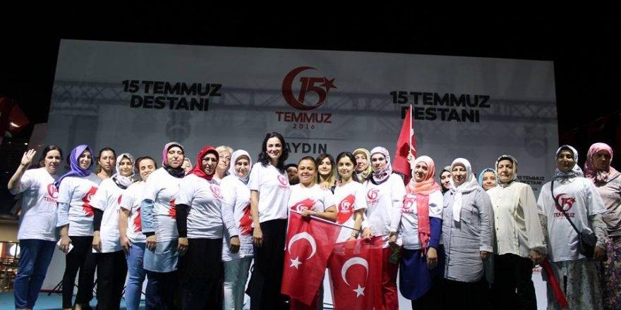 Aydın AK kadınlar Temmuz ayında Türkiye 1.'si oldu