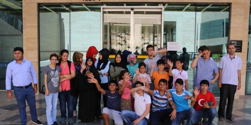 Büyükşehir'den engellilere müze gezintisi