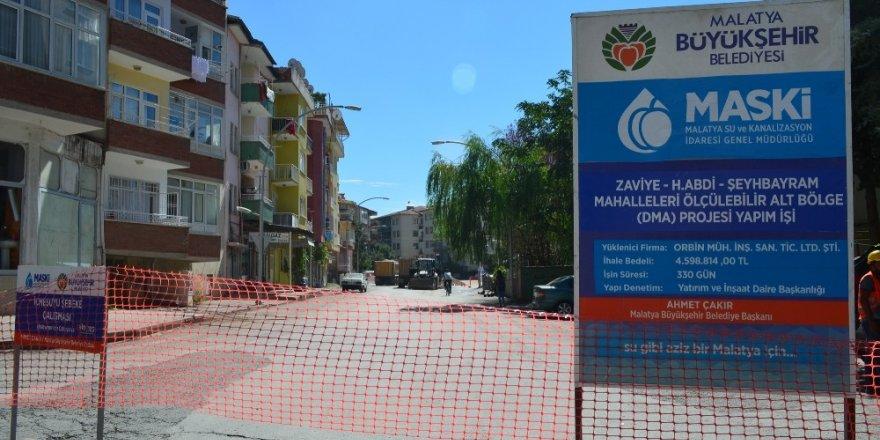 Malatya'da alt yapı çalışmaları