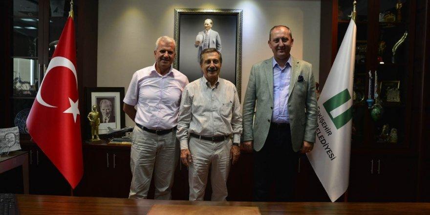 İsmail Işık'tan Ahmet Ataç'a ziyaret