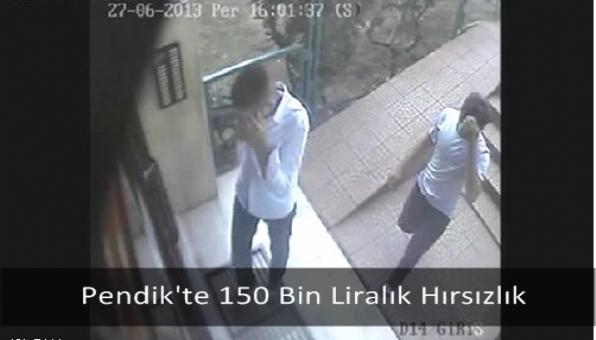 Pendik´te 150 Bin Liralık Hırsızlık