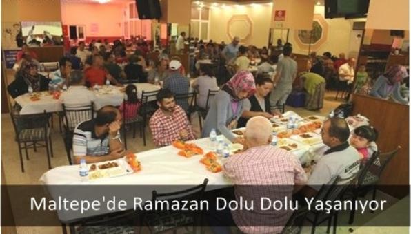 Maltepe´de Ramazan Dolu Dolu Yaşanıyor