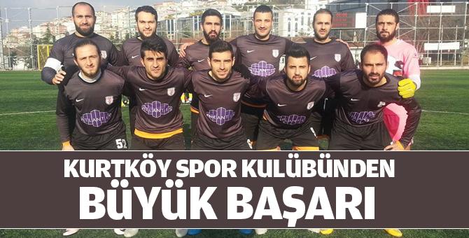 Kurtköyspor kulübünden büyük başarı