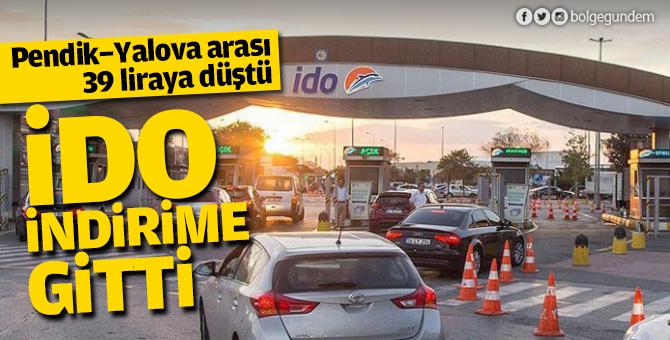 İDO indirime gitti: Pendik-Yalova arası 39 liraya düştü