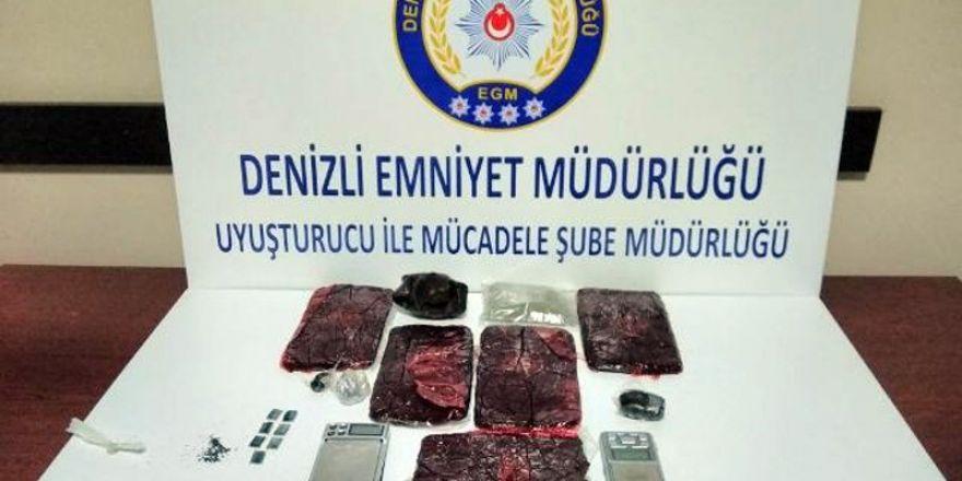 Denizli'de uyuşturucu operasyonu: 8 tutuklama