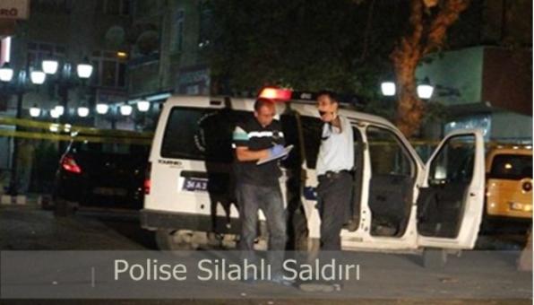 Pendik´te Polise Silahlı saldırı