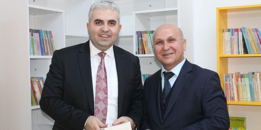 UEDAŞ'tan köy okullarına 9'uncu kütüphane