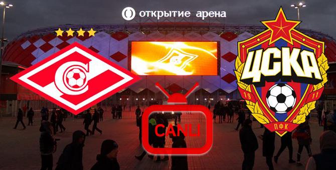 CSKA Moskova Spartak Moskova Maçı Canlı 12.08.2017