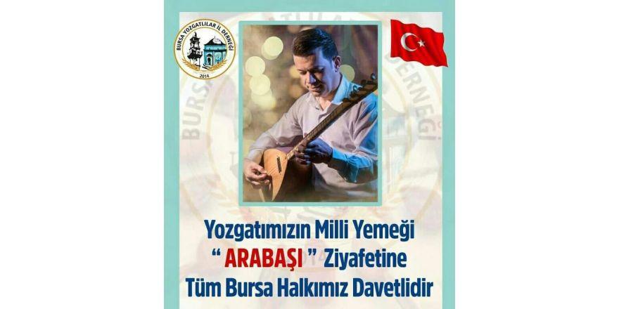 Bursa'daki Yozgatlılar arabaşı ziyafetinde buluşuyor