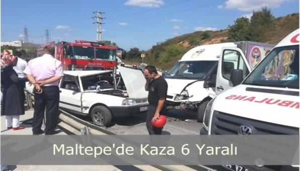 Maltepe´de Trafik Kazası