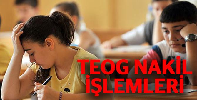 E-Okul TEOG Nakil İşlemleri Nasıl Yapılır