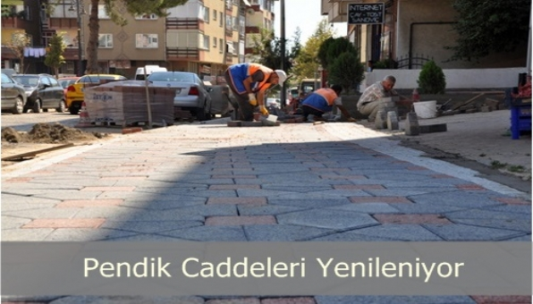 Şehit Fethi Caddesi de Yenileniyor