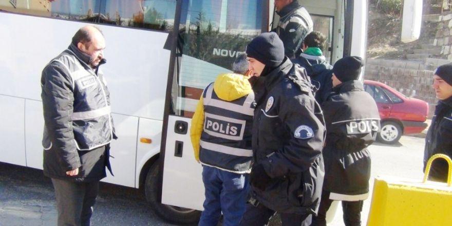 Kahramanmaraş'ta aralarında FETÖ'cülerin de bulunduğu 58 kişi yakalandı