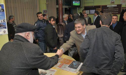 Başkan Şahin halkla buluşmaya devam ediyor.