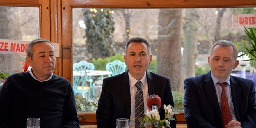 Bilecik Valisi Süleyman Elban, mermer ve maden grubu temsilcileriyle buluştu