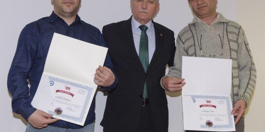 ESOGÜ'de İşbaşı Eğitimi Sertifika Töreni