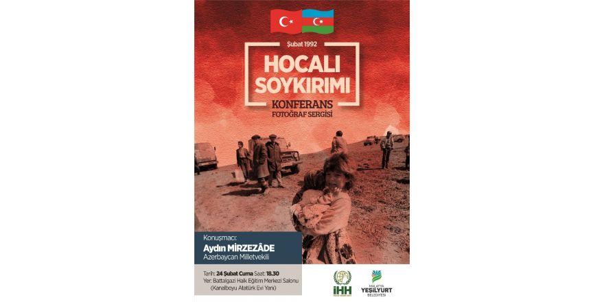 """""""Hocalı Soykırımı"""" konulu konferans ve fotoğraf sergisi düzenlenecek"""