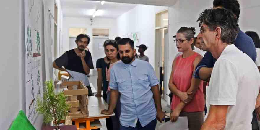 'Doğal Mimari Stüdyosu' GAÜ'de gerçekleşti