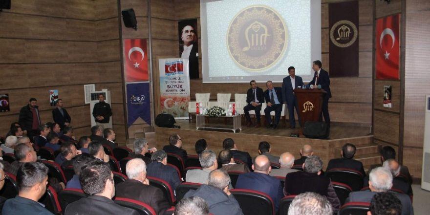 Siirt'te 'Cazibe Merkezleri' toplantısı düzenlendi