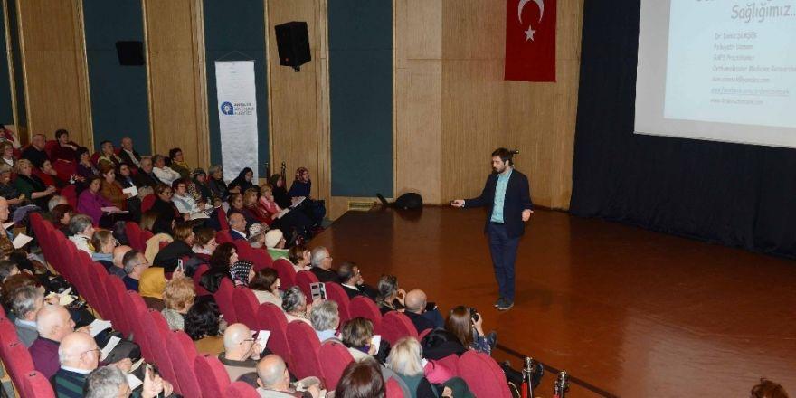Antalya'da 'Mavi Ev Konuşmaları' devam ediyor