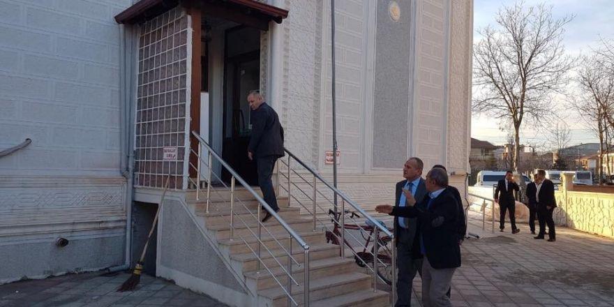 Başkan Keleş, Azmimilli Camisinde incelemelerde bulundu