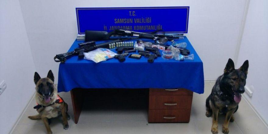 Samsun'da uyuşturucu operasyonu: 18 gözaltı