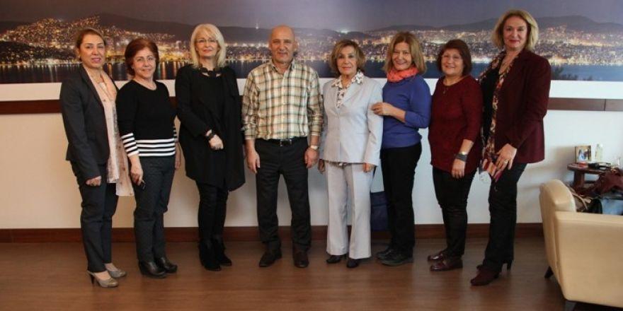 Başkan Altınok Öz'e Kartal Gönüllüleri Platformundan ziyaret