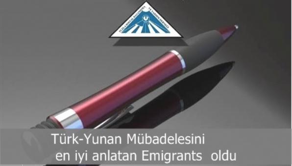 Türk-Yunan Mübadelesini en iyi anlatan Emigrants  oldu