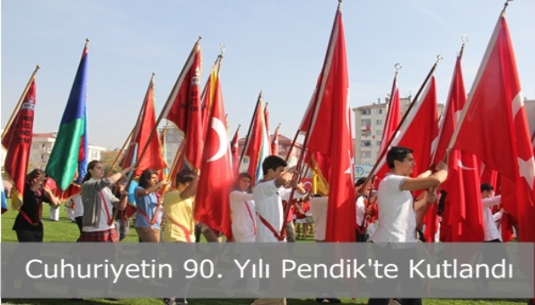 Pendik'te Cumhuriyet Coşkusu
