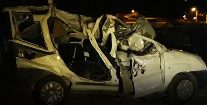 Ankara'da Düğün dönüşü Feci Kaza: 5 ölü 1 yaralı