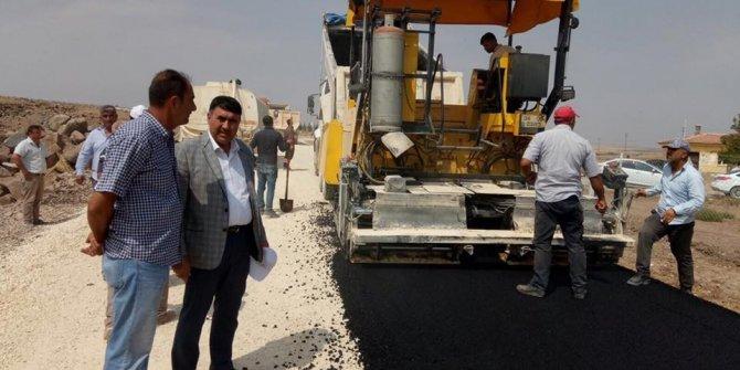Köylere Asfalt yol yapını başladı
