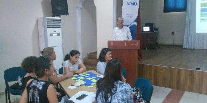 Didimli Öğretmenlere Fon kaynaklarına yönelik proje eğitimi