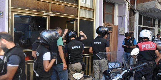 Bursa'da uyuşturucu ile mücadele sürüyor
