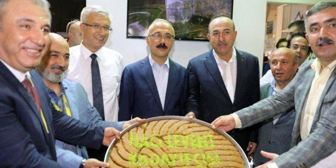 Büyükşehir Belediyesi YÖREX Fuarında Diyarbakır'ı tanıtıyor