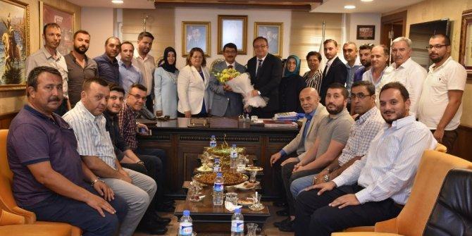 Başkan Çelik, Şehzadeler ilçe teşkilatını ağırladı