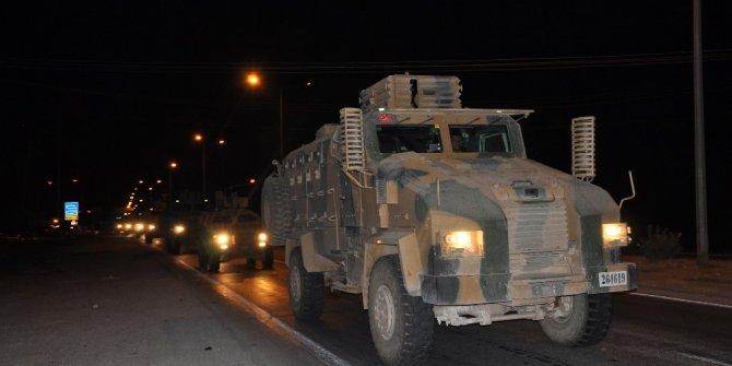 Sınıra askeri araç sevkiyatı