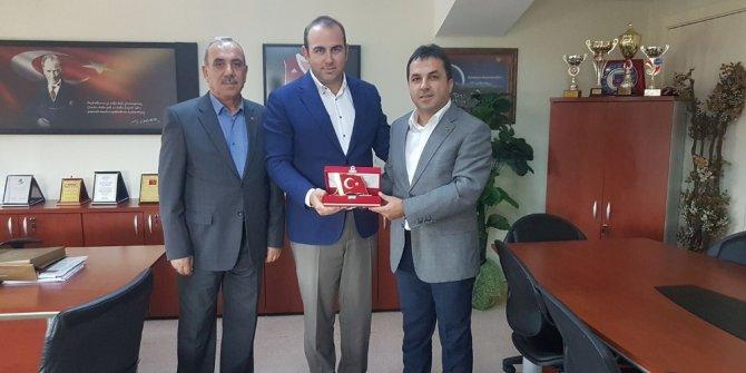 Şehit Aileleri derneği, Özel Kastamonu Anadolu Hastanesini ziyaret etti