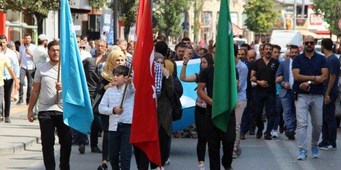 Sivas'ta 'Kerkük' yürüyüşü