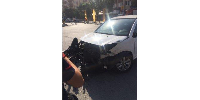 Aydın'da trafik kazası 3 yaralı