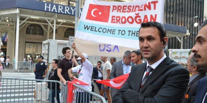 Cumhurbaşkanı Erdoğan, New York'ta sevgi gösterileriyle karşılandı