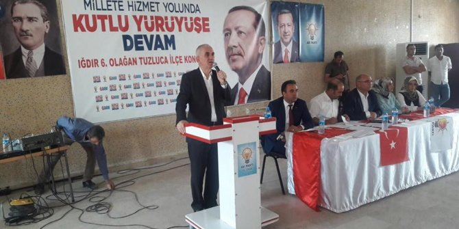 AK Parti Tuzluca İlçe Kongresi yapıldı