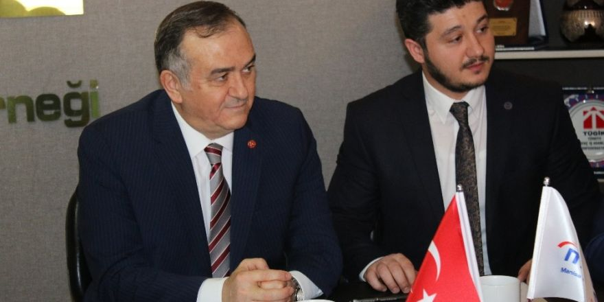MHP'li Akçay'dan MAGİAD'a ziyaret