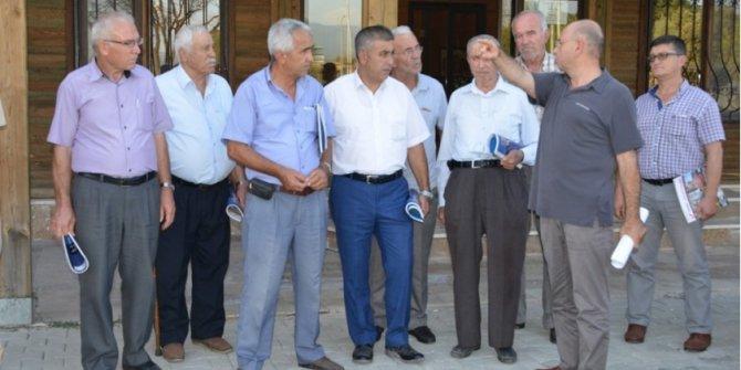 Belediye Başkanı Mehmed Ali Saraoğlu, muhtarlarla bir araya geldi