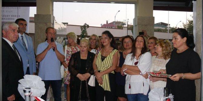 Ekber Yeşilyurt Atelyesi'nin Sonbahar Sergisi Büyükçekmece'de açıldı